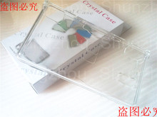 For Nintendo DS Lite for NDSL Game Console Transparent/Clear Hard Protector Case Skin Cover with Retail Box 1pcs/lot