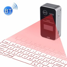 KB580 3 in 1 Mini Pocket Virtual Bluetooth Laser Projection Keyboard + Mouse + LED Display Keyboard for Android/ iPhone/Apple PC