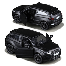 RMZ City Matte Black 1:36 Aurora Toy Vehicles Alloy Pull Back Mini Car Replica Authorized By The Original Factory Model Toys