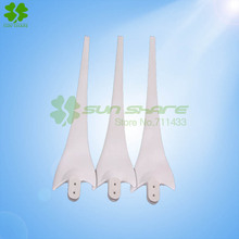 The wind blades blades right for 400w wind generator ,Dolphin 3pcs /lot  white or  black color