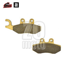Newet Brand ZOMOTO 2016 Motorcycle Disc Brake Pads FA353 fit for APRILIA SPROTCITY 50 PCAGGIO STREET FLU 50 BV 250 VESPA SPRINT(China)