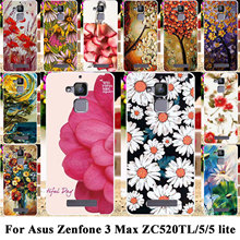 Phone Cases For Asus Zenfone 3 Max ZC520TL Covers X008D Zenfone3 Max 5.2 inch Zenfone 5 Lite A501CG A502CG Soft TPU Hard PC Bags