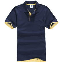 New 2017 Men's Brand Polo Shirt For Men Designer Polos Men Cotton Short Sleeve shirt Brands jerseys golftennis Free Shipping
