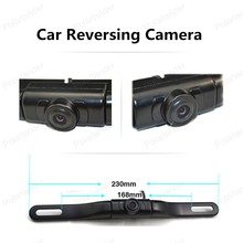 hot!! 170 degree view angle car license plate camera car Rear View Camera with IR led lights Night Vision