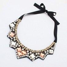 European and American fashion jewelry wholesale luxury false collar necklace 12pcs/lot