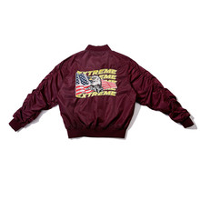 Hip Hop Brand American Streetwear Coat Eagle Alphabet Embroidery Loose Bomber Jacket Retro Men and Women Baseball Jackets(China)