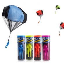 New Arrival Mini Soldier Parachute Toy Outdoor Toys Children Early Educational Parachute Toy Gifts For Kids Color Random