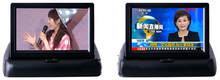 5 Inch Foldable Stand-Alone Flip Down Car Bus Truck TFT LCD Monitor Retail/Pc Free Shipping