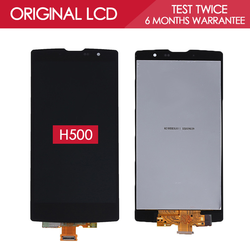 Tested Original 5.0 inch Black 1280x720 Display For LG Magna H500 H500F H502 LCD Touch Screen with Frame Replacement<br><br>Aliexpress