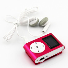 Mini Mp3 Music Player Clip MP3 Sport Player Free Music Downloads Mp3 With Screen Recording no TF/SD Slot Download Music Players