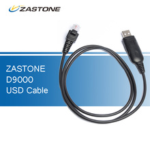 Zastone D9000 Walkie Talkie Accessories USB Programming Cable for ZT-D9000 Car Walkie Talkies Mobile Radio Two Way Radio(China)