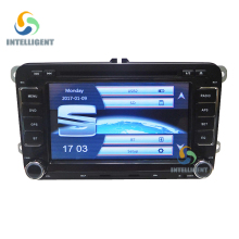 2 DIN Car DVD Player GPS for skoda VW SEAT Altea Toledo Leon with navigation touch screen car radio gps stereo audio multimedia(China)