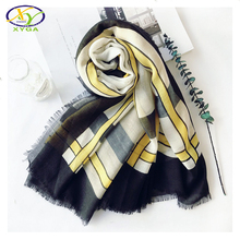 1PC 110*110 cm 2017 Spring Summer Japanese Style New Cotton Linen Women Fashion Square Scarf Woman New Viscose Pashminas Shawl