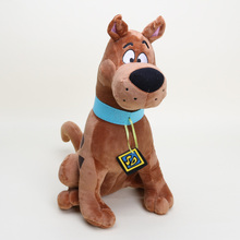 EMS 20pcs/lot 33cm Soft Plush Cute Movie Scooby Doo Dog Plush Toys Stuffed Animals doll children gift