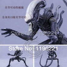 "Wholesale/Retail Free Shipping FS New NECA Toy Classic Alien 20th Century Fox 23cm/9"" Action Figure RARE(China)"