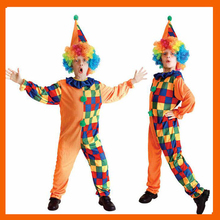 2017 HALLOWEEN CLOWN COSTUME CLOTHING FOR CHILDREN CLASSIC COSPLAY SUIT SET FOR KIDS BOYS KIDS CHRISTMAS STAGE PERFORMANCE WEAR