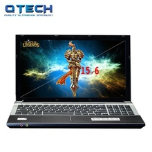 15.6inch Game Laptop 8GB RAM 580GB HDD Windows 10 /7 DVD Large Notebook Fast cpu Intel 4 Core AZERTY Russian Spanish Keyboard(China)