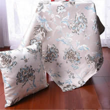 Jacquard 1.45M width *1M length,thickening sofa fabric cushion pillow cushion set of table cloth chair cloth cover fabrics 176