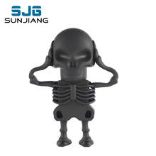 cute cartoon Skeleton Pen Drive USB Flash Drive 64GB/8GB/16GB/32/GB/4GB pendrive Memory USB Stick usb flash card Gift for Boy ho