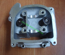 Chinese Scooter Moped 4 stroke 139QMB GY6 50 NON EGR Cylinder Head Assembly