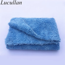 "Ultra Thick-450GSM Edgeless Microfiber Cloth 16""X16"" No Edge Premium Detailing Towel For Polishing,Buffing,Finishes,Car Wash"