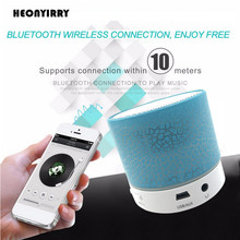Mini Bluetooth Speaker Wireless LED Dancing Music Audio Speaker Support TF Card Stereo Sound FM Radio Speakers Ihone Xiaomi