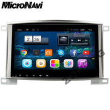 MicroNavi 10.2 inch Android 6.0 Car DVD Player for Toyota Land Cruiser 100 LC 100 LC100 GPS Navigation Radio Bluetooth wifi MAP(China)