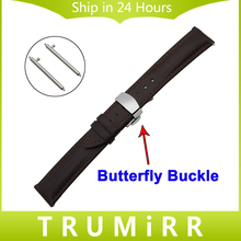 18mm 20mm 22mm Quick Release Watch Band for BEM 302 307 501 506 517 EF MTP Genuine Leather Strap Butterfly Buckle Wrist Bracelet