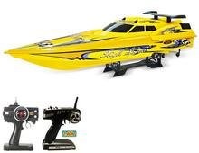 1:12 scale 2.4Ghz Three motors radio controlled speedboat remote control boat large rc racing speed boat 5.5m/s