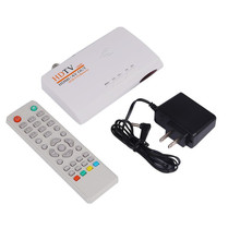 HDMI HD 1080P DVB-T DVB-T2 TV Box AV CVBS Tuner Receiver Remote Control Compatible With CRT and LCD Without VGA Version