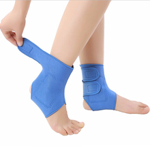 Professional Stretch Tourmaline Self-heating Ankle Brace Football Basketball Taekwondo Badminton Safety Sports Ankle Protector