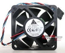 Original Delta  AFB0612SH  6025 6CM 12V 0.32A four-wire PWM fan For Dell servers