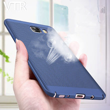 Heat dissipation Matte hard case For samsung Galaxy s8 s8plus s7 s7 edge s6 s6 edge a5 2016 a5 2017 Back Cover phone shell(China)