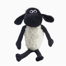 2016 New Arrival Cute Shaun Sheep Lamb Plush Toys Anime Doll 25CM Size Best Gift For Baby Toys