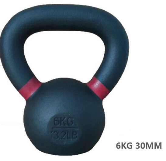6KG Electrostatic Spraying Kettle Bell Professional Fitness Lifting Dumbbell High-Grade Exercise Training Equipment<br><br>Aliexpress