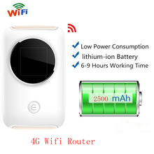 4G LTE Wifi Router With Sim 150Mbps Mobile Hotspot Car Mifi Mini Modem Wireless Broadband 3G 4G Portable Wi-Fi Router Dongle(China)