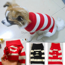 Pet Dog Clothes Winter Warm dog Sweater for Knitwear Puppy dog Clothing pet products Coat Sweater Jumpsuit Knit Warm(China)