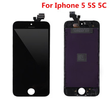 A+++ 4 Inches LCD Display Touch Screen Digitizer Assembly+Tools Repair Part Replacement For Apple For iPhone 5 5G 5S 5C