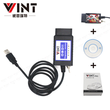 VINT-TT55502 ELM327 USB V1.5 modified for Ford ELMconfig CH340+25K80 chip HS-CAN / MS-CAN VINT