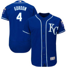 MLB Men's Kansas City Royals Alex Gordon Baseball Royal Alternate Flex Base Authentic Collection Player Jersey(China)