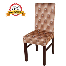 Wedding Decoration 1PC Polyester Spandex Lycra Dining Chair Cover for Wedding Party Restaurant Hotel Home Dinner Universal Size(China)