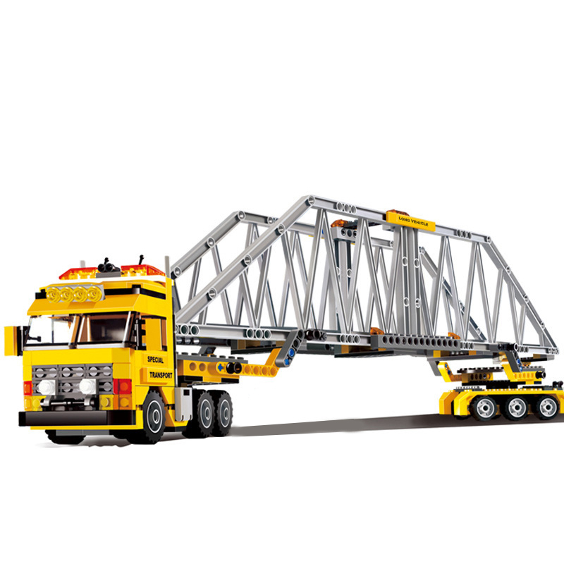 LEPIN 02041 City Series The Heavy Loader Truck Building Blocks Bricks Enlighten Toys for Children Xmas Gifts 7900 legoingse<br>