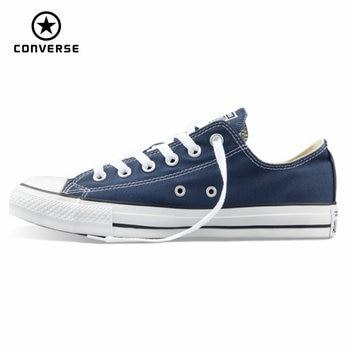 D'origine Converse all star de toile chaussures hommes et femmes sneakers pour hommes femmes bas classique Planche À Roulettes Chaussures de livraison gratuite