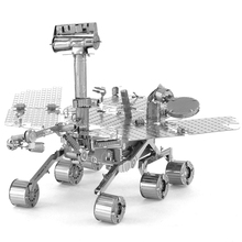 Mars Rovers Fun 3d Metal Diy Miniature Model Kits Puzzle Toys Children Educational Boy Splicing Science Hobby Building(China)