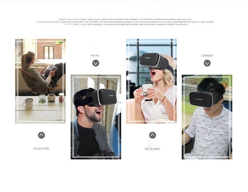 Original VR Shinecon 6.0 Virtual Reality 3D Glasses Cardboard VRBOX Helmet For 4.0-6.0 inch Smartphone With Wireless Controller 11