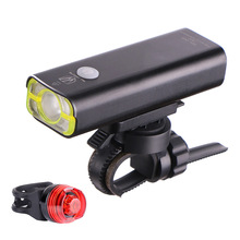 Wheel Up Bike Light Bicycle Front Light 400 Lumens USB For Wide Flashlight Waterproof Rechargeable LED Bike Accessories(China)