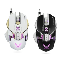 Professional ZERODATE X300 3200DPI Optical Programmable Wired Gaming Mouse with LED Backlight for Laptop Computer PC(China)