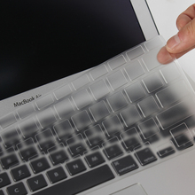 High Clear Tpu Water Dust Proof Keyboard Cover Sticker For Macbook Air 11 13 inch Pro 13 15 Retina US Vision Stickers Protector(China)