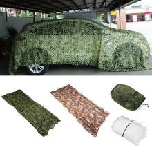 Camouflage Net Army Military Camo Net Car Covering Tent Hunting Blinds Netting Jungle/Desert/White Cover Conceal Drop Net