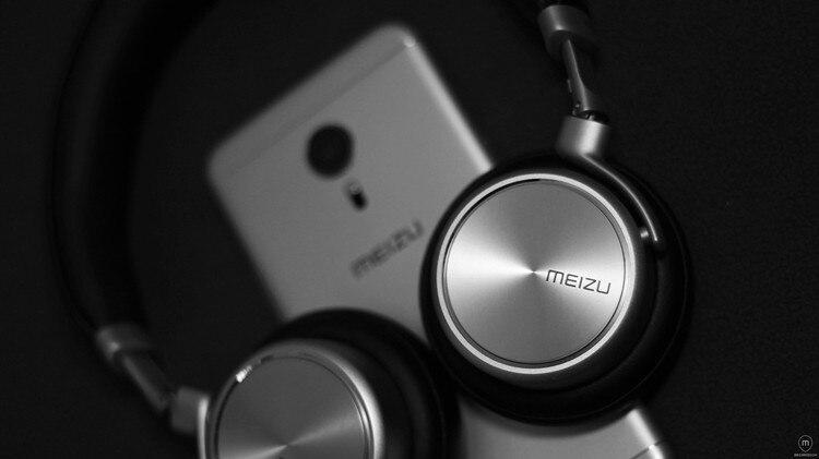 Original MEIZU HD50 HIFI Earbuds Headphone Stereo Headset with Mic Foldable Noise isolation Microphone Bass sport Headband Meizu